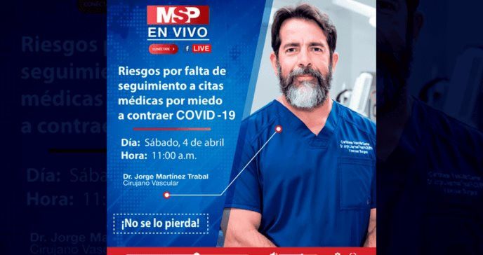 Riesgos por falta de seguimiento a citas medicas por miedo a contraer COVID-19