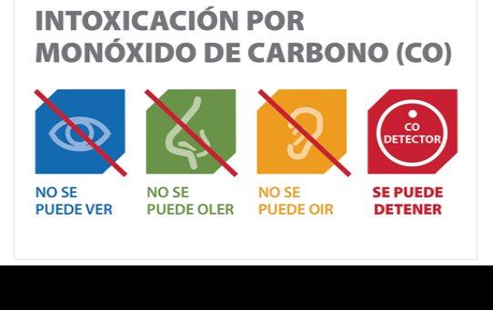 El riesgo de intoxicación por el uso de generadores de electricidad