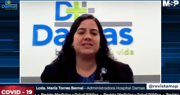 Servicios que el Hospital Damas ofrece durante la pandemia del nuevo coronavirus