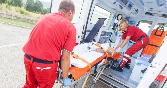 Las ambulancias podrían ser fuente de infecciones