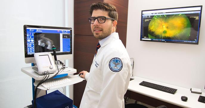 La braquiterapia, una alternativa a la remoción del ojo por tumores oculares en Puerto Rico