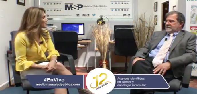 ¿Quimioterapia o vitamina C? con el doctor Fernando Cabanillas, experto en oncología