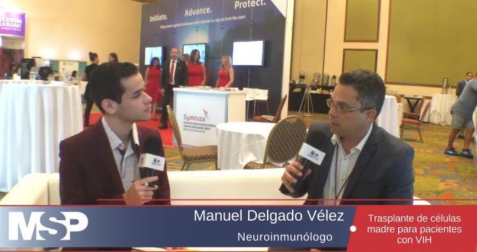 El doctor Manuel Delgado, explica en detalle el proceso científico que permitió que cinco personas con VIH presentaran un reservorio del virus