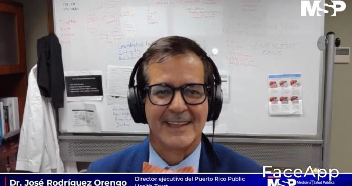 """""""Seguimos bajando la cantidad de contagios en Puerto Rico"""", dice el Dr. Rodríguez Orengo"""
