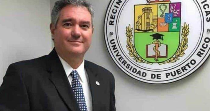 Dr. Segundo Rodríguez Quilichini presenta dimisión como rector al RCM efectivo 7 de mayo