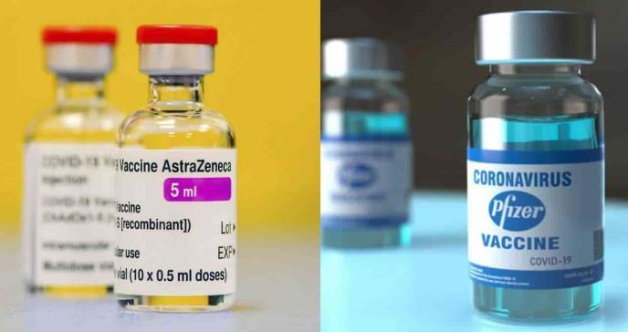 La fusión entre las vacunas AstraZeneca y Pfizer potencia respuesta inmunitaria contra el COVID-19