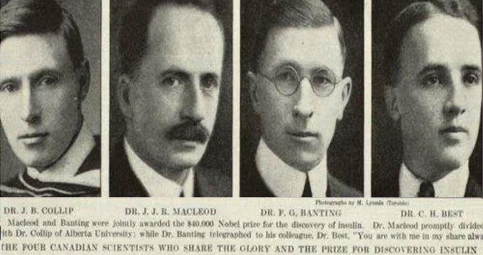 2021, centenario del descubrimiento de la insulina