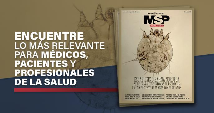 ¡Mire la nueva edición de MSP- Científico!