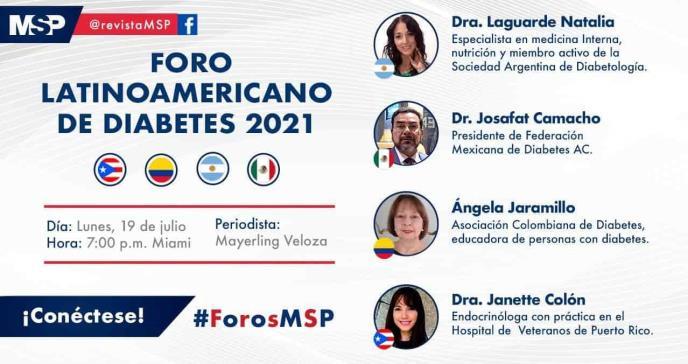 Foro Latinoamericano de Diabetes 2021