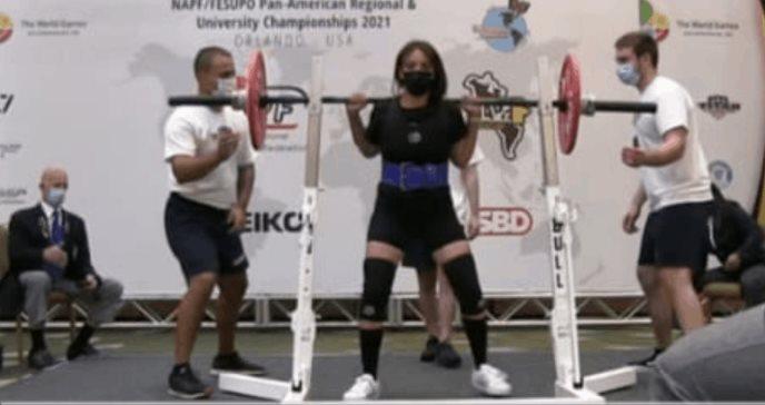 Melissa Natal, paciente con Esclerosis Múltiple ganó medalla de plata en Panamericano de Powerlifting