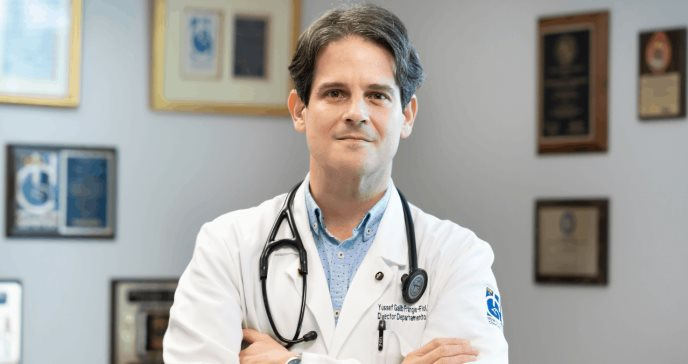 Dr. Galib-Frangie: su pasión lo llevó a presidir la organización médica más antigua del país