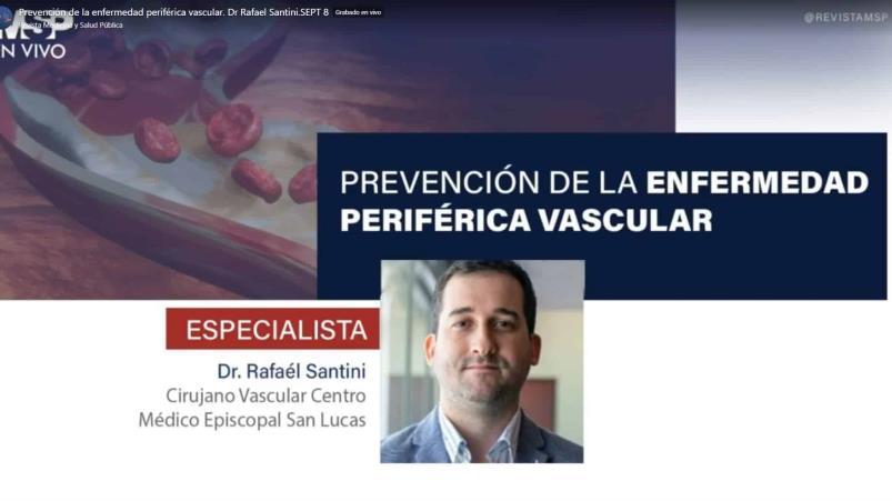 Prevención de la enfermedad periférica vascular