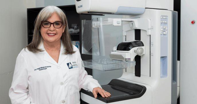 Ángela Méndez, radióloga al servicio de las mujeres con cáncer de mama en Puerto Rico