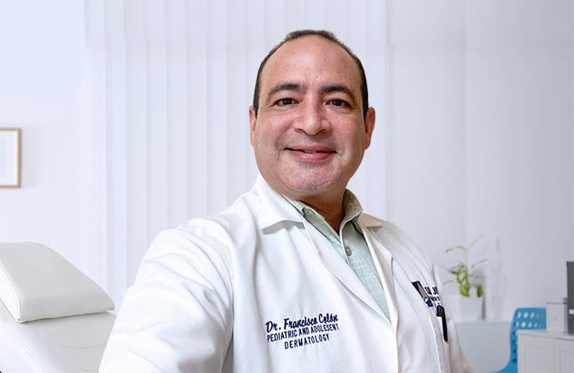 Dr. Francisco Colón, dermatólogo pediátrico.