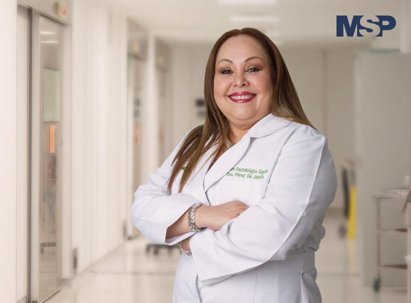 Doctora Amarilis Pérez, reumatóloga.