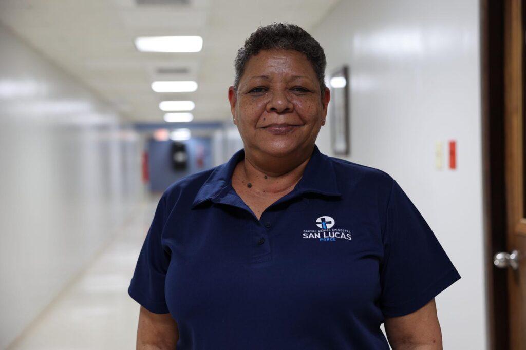 Wanda Lledó, enfermera epidemióloga del Hospital San Lucas.